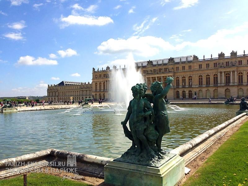 Дворц Версаль в Париже