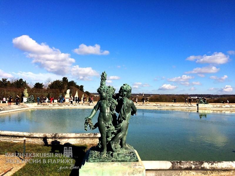 Дворц Версаль - Париж