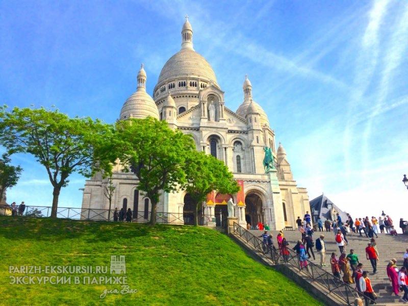 Авто экскурсии по Парижу
