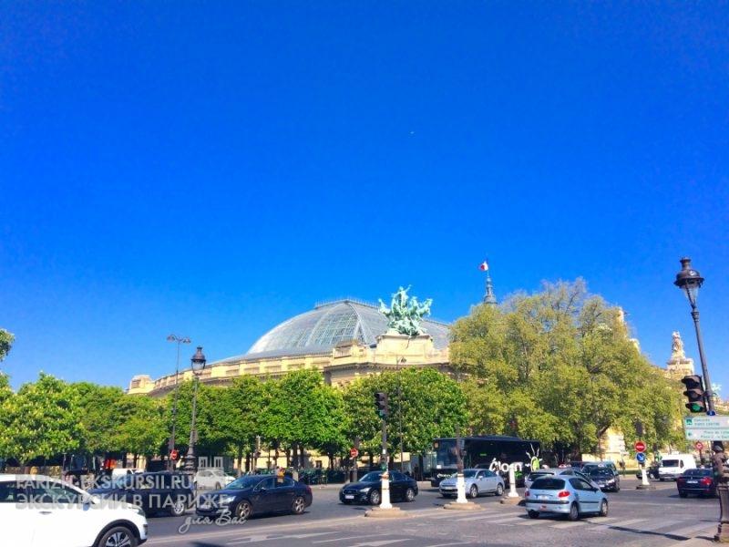 Автомобильные экскурсии Париж