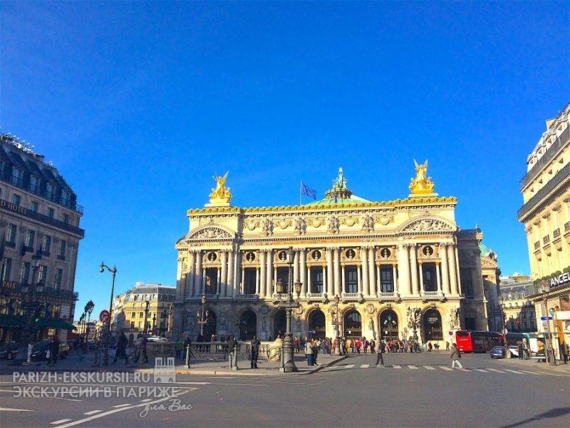 Автомобильные экскурсии в Париже