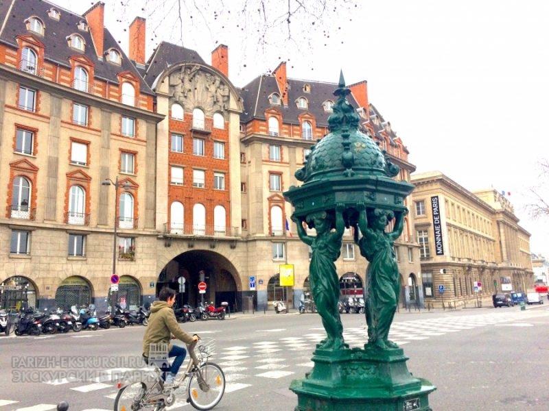 Пешеходные экскурсии Париж
